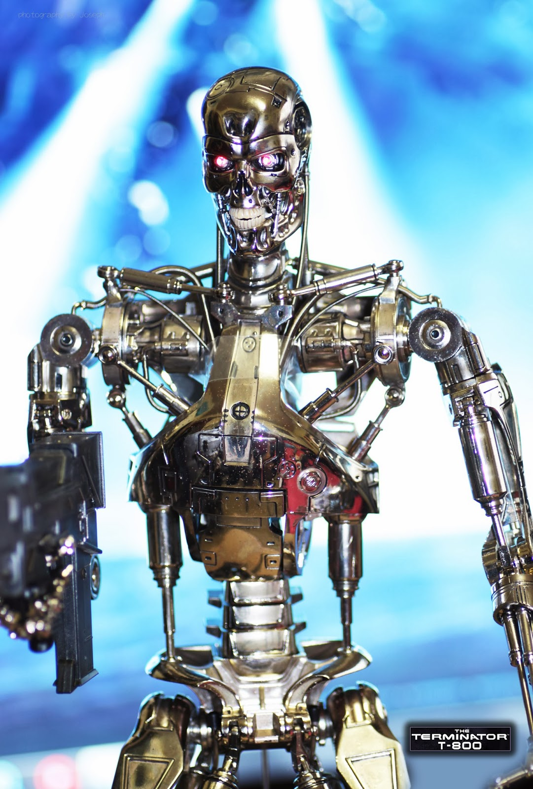 Tsr  Terminator Endoskeleton 1  4 Scale By Hottoys