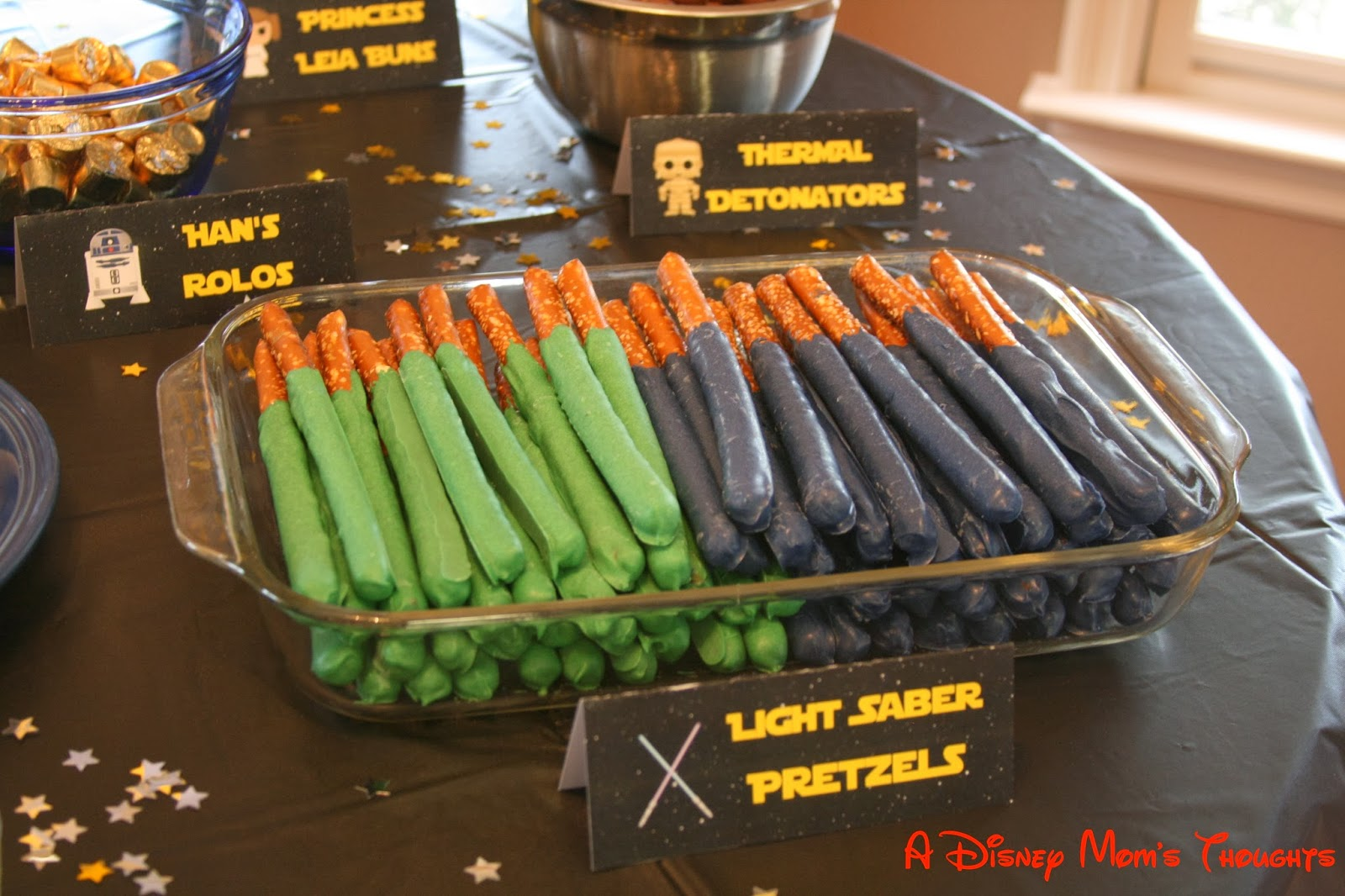 A Disney Mom S Thoughts Star Wars Birthday Party Food