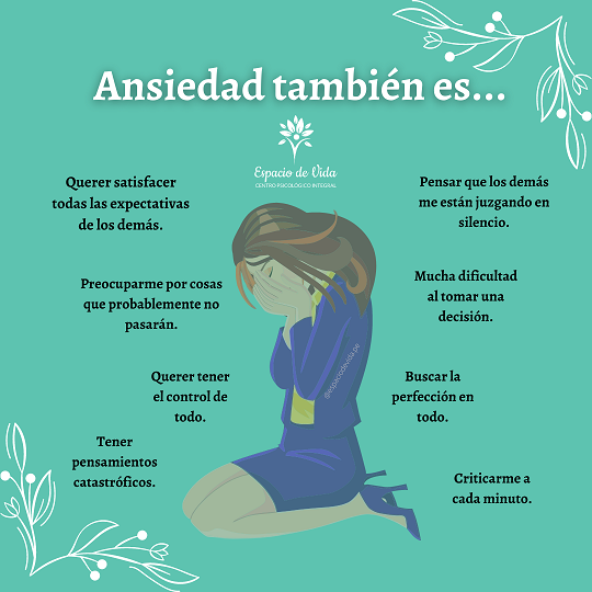 otros síntomas de la ansiedad