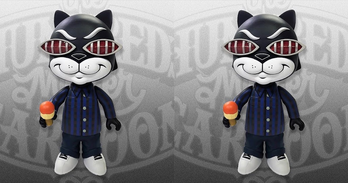 The Blot Says...  DCon 2018 Exclusive Bronson True Blue Edition Vinyl  Figure by Mister Cartoon x The Hundreds 97b01f0ea9d3