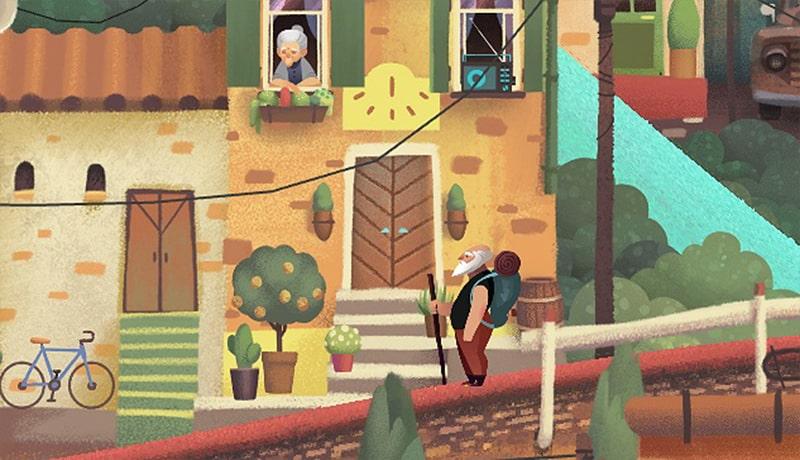 تحميل لعبة الغاز ومغامرات Old Man's Journey الأكثر من رائعة للاندرويد