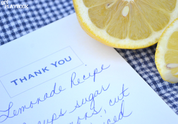 Gift for a Summer BBQ: Inside is the recipe | DIY Playbook