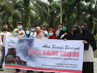 Koddam Bersatu Labuhan Batu Menggelar Aksi Peduli Bencana Erupsi Gunung Sinabung...