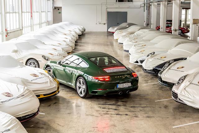 Porsche's 1,000,000th 911 Sports Car Rolls Off the Production Line