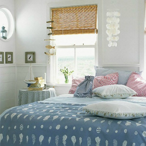 Coastal Country Bedrooms