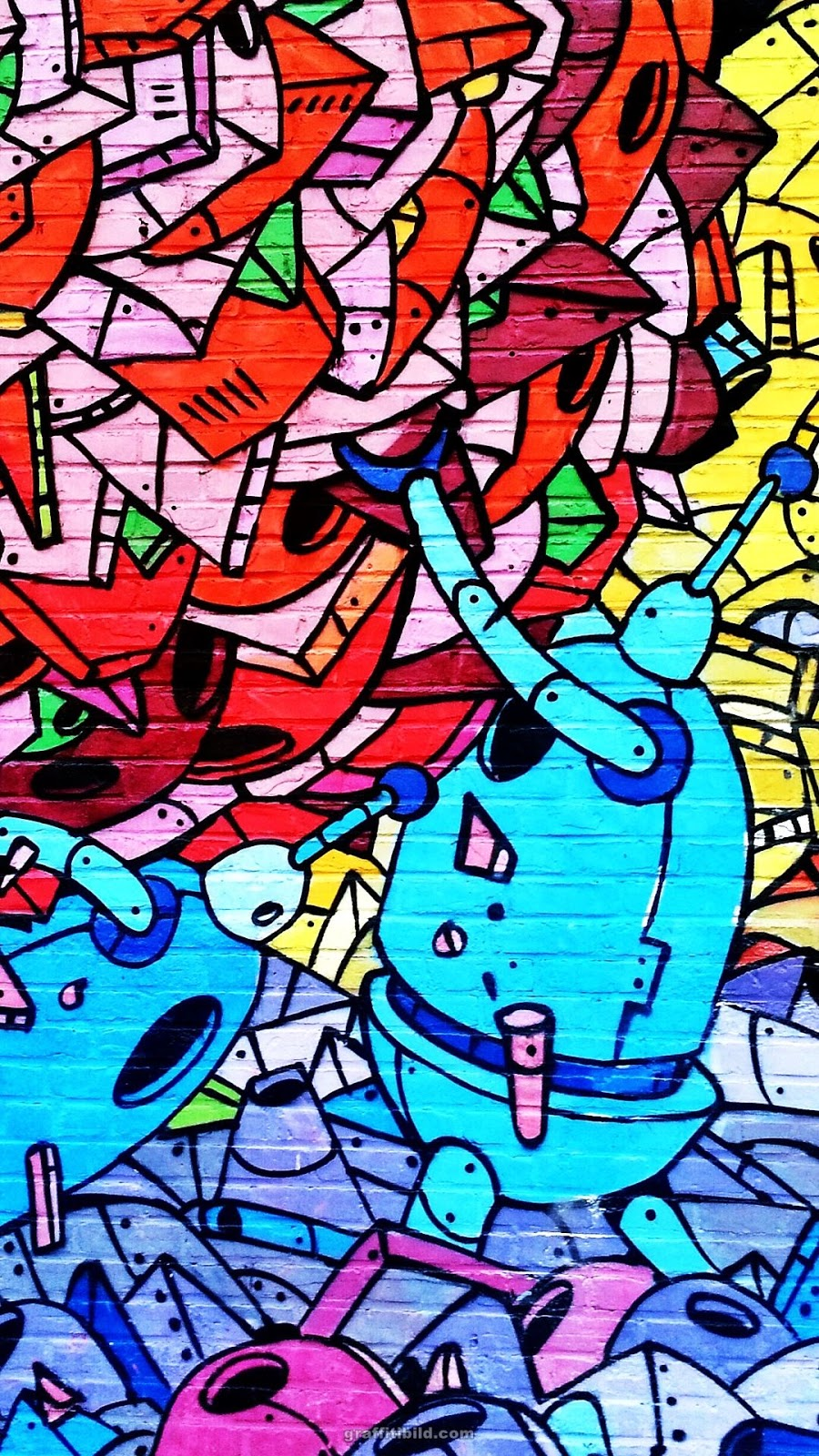 graffiti hintergrundbilder handy kostenlose