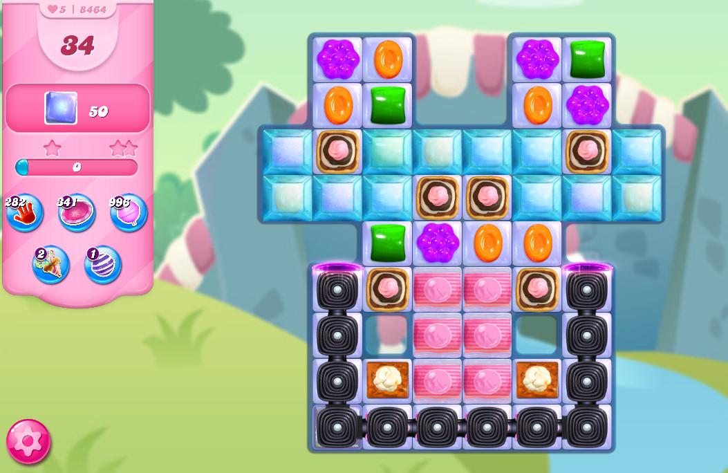 Candy Crush Saga level 8464