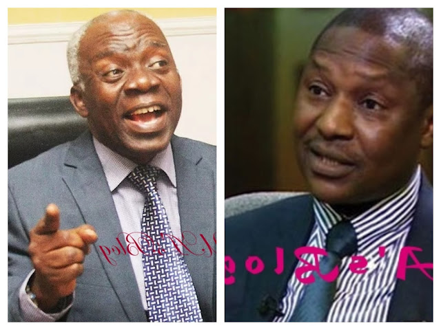 Falana to Malami: You can't release anyone out of mercy… apologise to Sowore, Dasuki