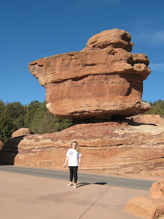 Balancing Rock is a favorite among the locals and the tourists.