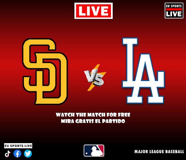 EN VIVO   San Diego Padres vs. Los Angeles Dodgers, juego de la MLB 2021 Estados Unidos   Ver gratis el partido