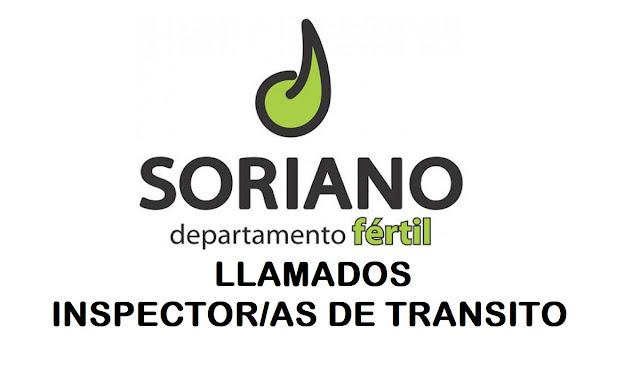 Intendencia de Soriano llama para cubrir 3 cargos de Inspector/a de transito en Mercedes