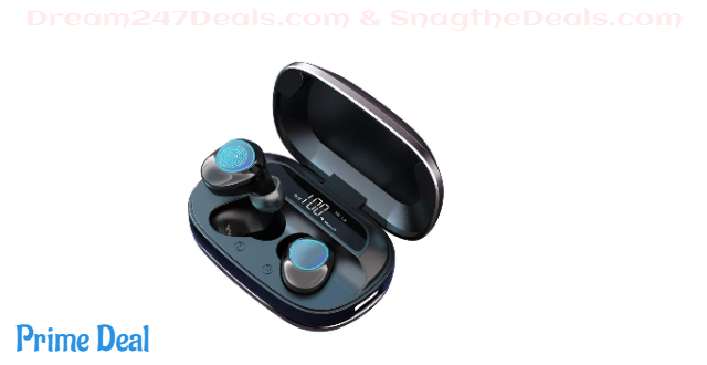 65%OFF Bluetooth Wireless Earbuds, MakThing Sport Headphones