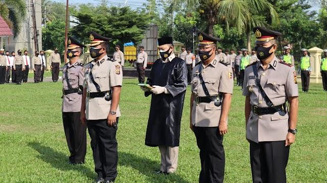 Wakapolres Prabumulih, Kabag Ops Dan Kapolsek Prabumulih Barat Resmi Diganti