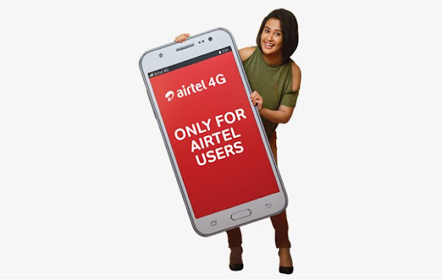Quickly upgrade to Airtel 4G smartphones and get free 30GB data to surf internet