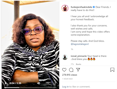 funke akindele post - photo