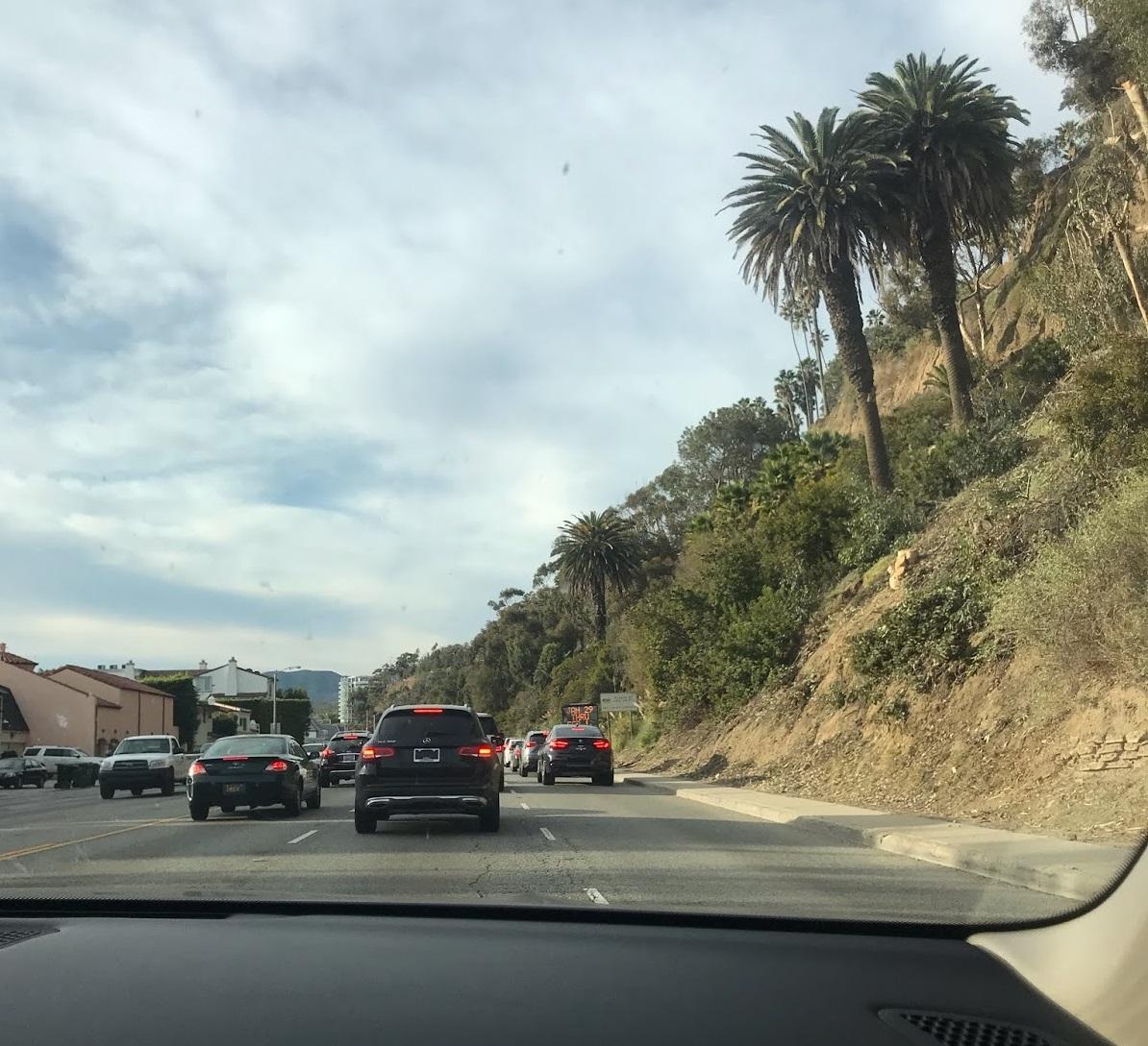 Estrada em LA