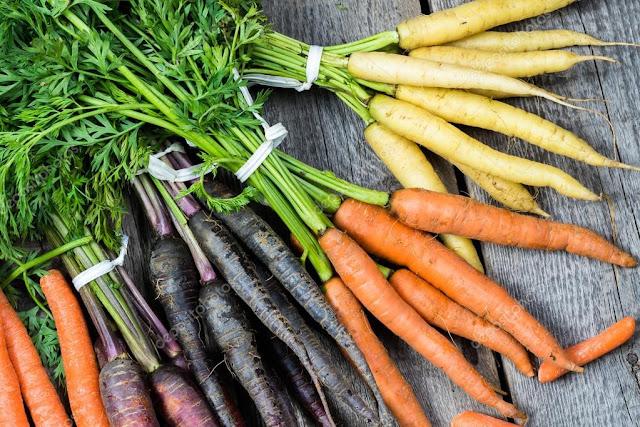 Фиолетовая морковь, Необычные и удивительные овощи и фрукты