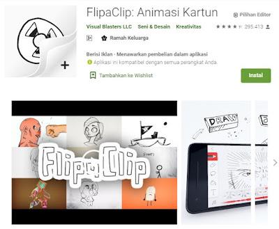 Flipaclip- cartoon animation
