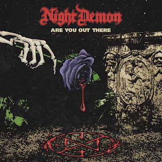 "Το single των Night Demon ""Are You Out There?"""
