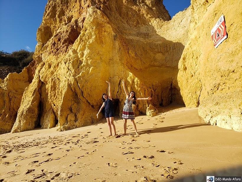 Falésias da Praia de Armação de Pêra - Algarve