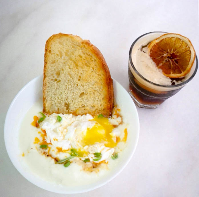 Stay-Home Cooking #9: Turkish Eggs & Espresso Tonic by Emily, Creofe Baked Goods