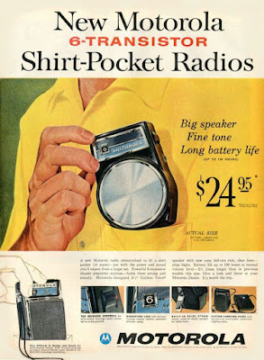 Mororola Shirt Pocket Radio