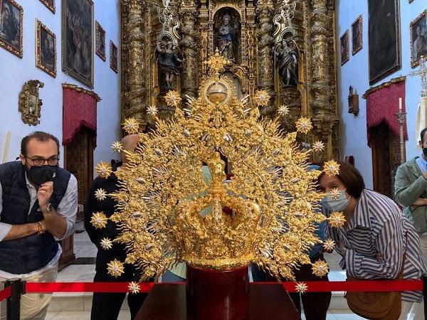 Así es la nueva corona de la Esperanza de Córdoba
