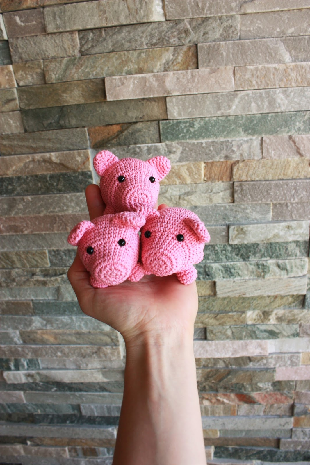 Baby Knitting Patterns Pig Amigurumi Crochet Tutorial... | 1600x1066