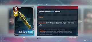 Marvel duel A.I.M Energy shield
