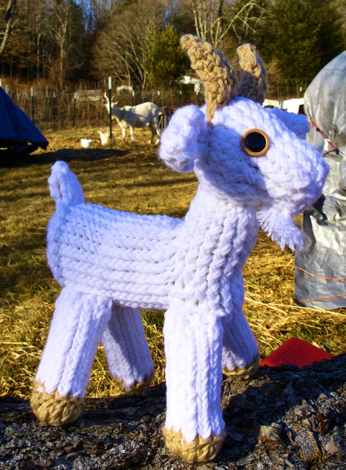 A Goat S Journey Over Life S: The Loom Muse : How To Loom Knit A Goat