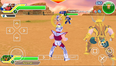 download Game PSP Dragon Ball Z TTT Multiverse Mod Character ISO For PPSSPP