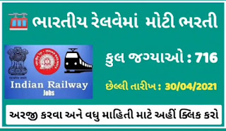 West Central Railway Recruitment For 716 Trade Apprentice Posts 2021 @mponline.gov.in