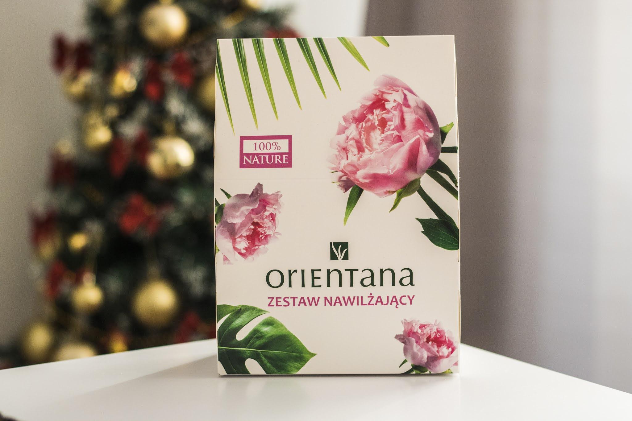 Zestaw prezentowy nawilżający - Orientana
