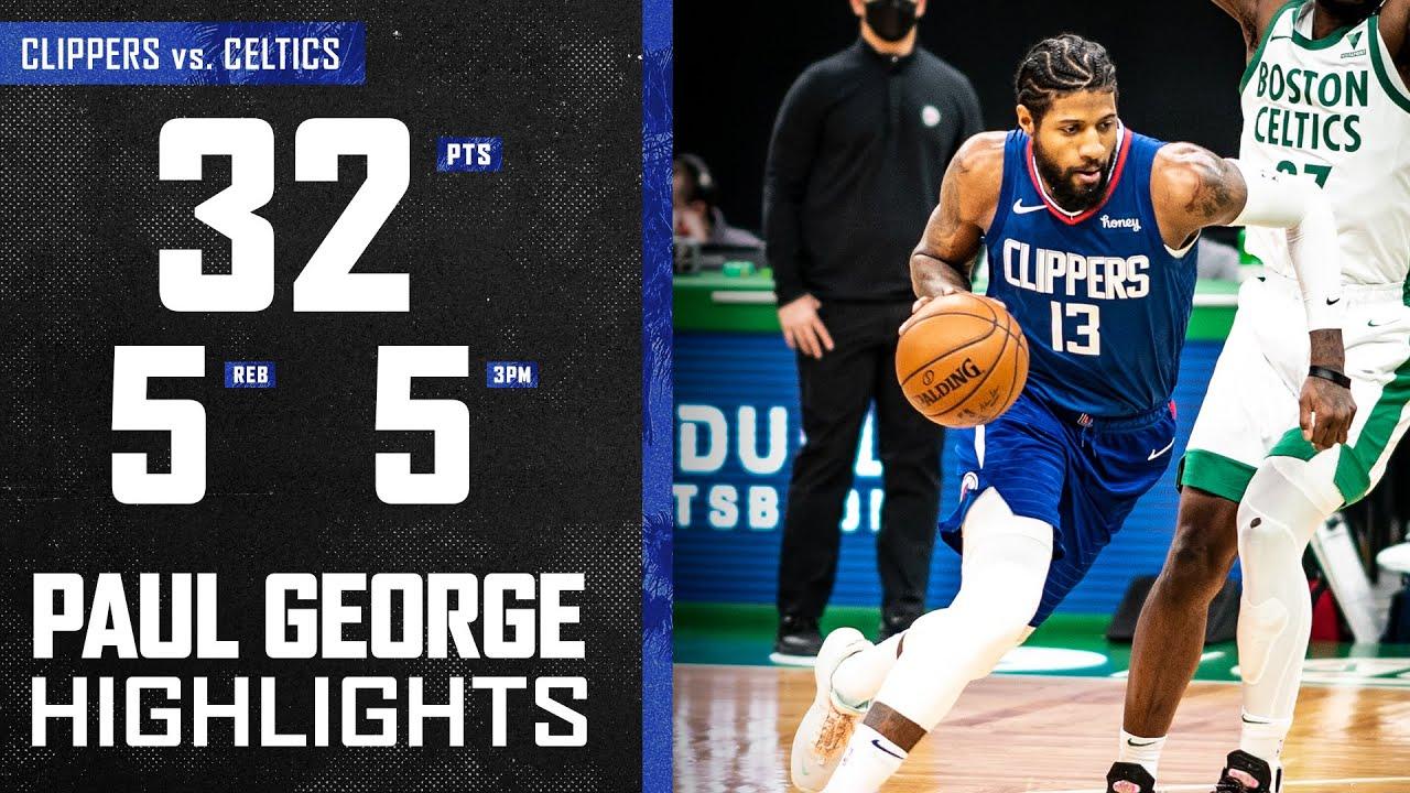 Paul George 32pts 5reb 4ast vs BOS | March 2, 2021 | 2020-21 NBA Season