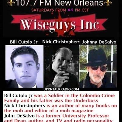 Bill Cutolo, Nick Christophers, John DeSalvo, Wise Guys Inc podcast
