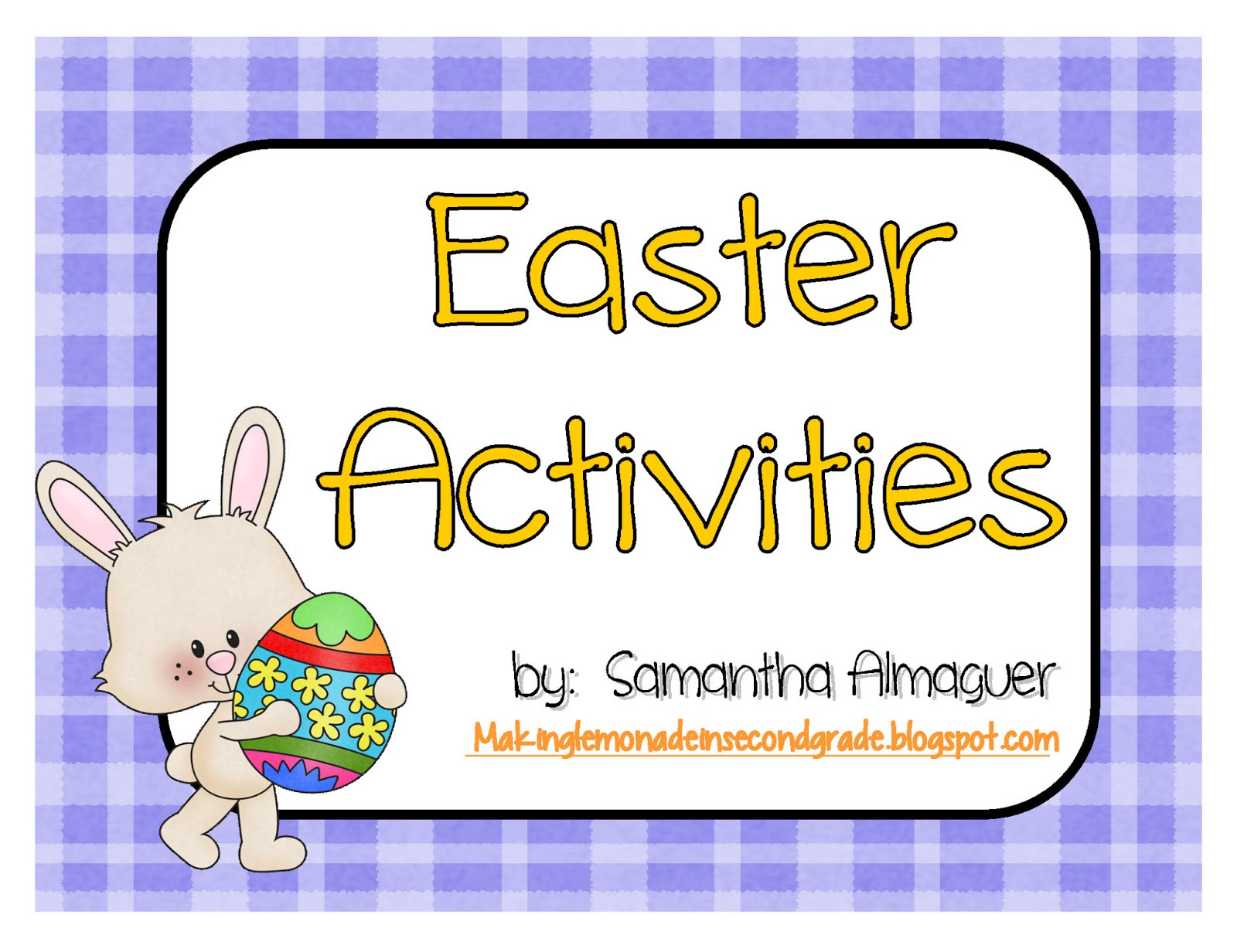 Making Lemonade In Second Grade Easter Freebie