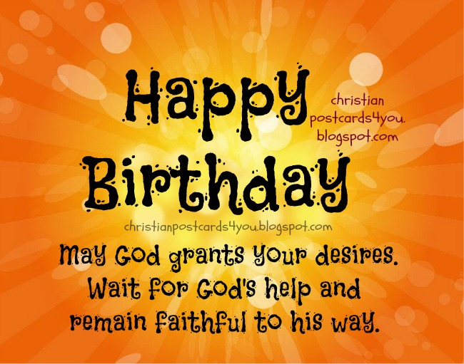 Spiritual Birthday Quotes And Nice Images For Men Christian Birthday Cards Wishes