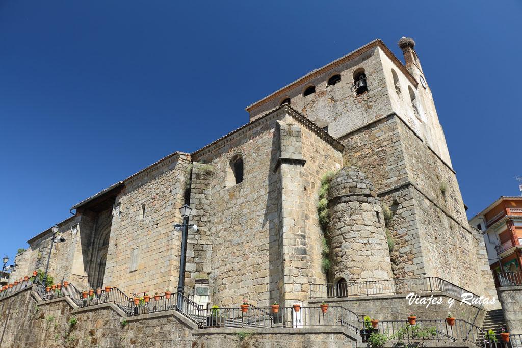 Qué ver en Mombeltrán, Iglesia de San Juan Bautista