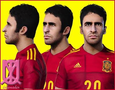 PES 2021 Faces Raul Gonzalez by Uqiya