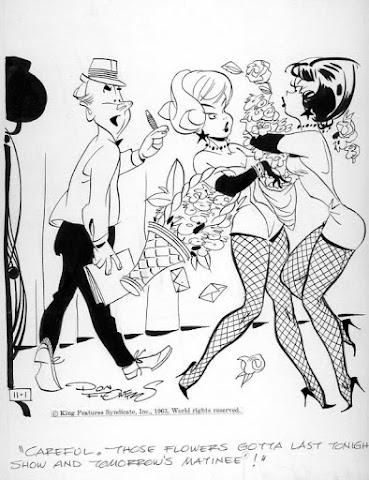 Don Flowers cartoon girls