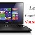 Lenovo Machines Vulnerable To Bypass Fingerprint Scanner