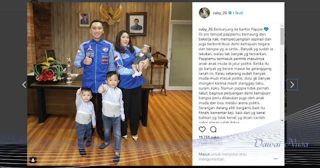 Netizen Ramai Persoalkan Foto SBY di Ruangan Kerja Ibas