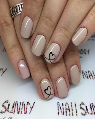 Diseño de uñas gelish color pastel