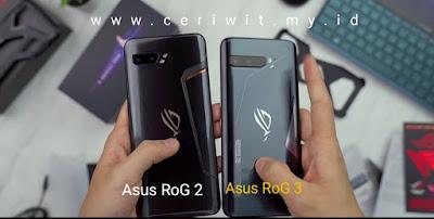 Perbedaan Asus RoG 2 dan 3