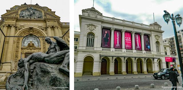 Museu de Belas Artes e Teatro Municipal de Santiago do Chile