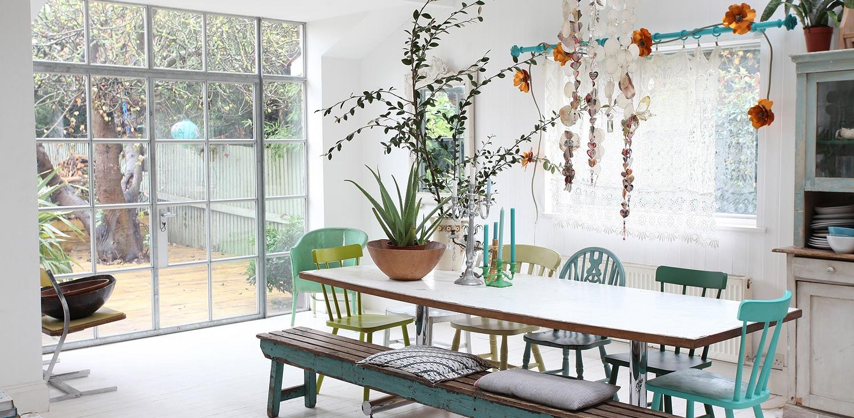 Ben noto Appartamento di stile a Londra - Shabby Chic Interiors CH74