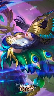 Pharsa Peafowls Dance Heroes Mage of Skins V2