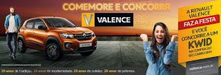 Promoção Valence 20 Anos Renault