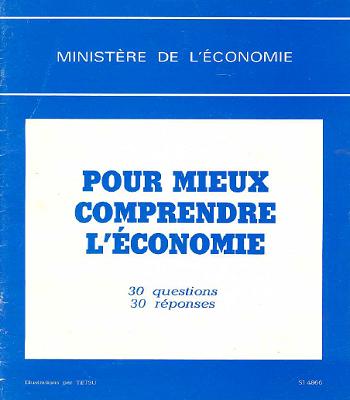 Pour Mieux Comprendre L'économie en PDF