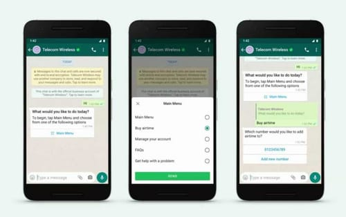 WhatsApp makes chatting with businesses easier and faster